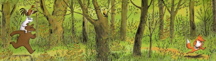 poules dorment dans les arbres